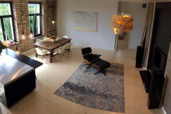 Riga Luxury Loft with Terrace - фото 8