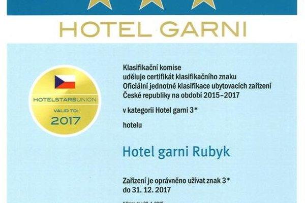 hotel*** garni RUBYK - фото 21