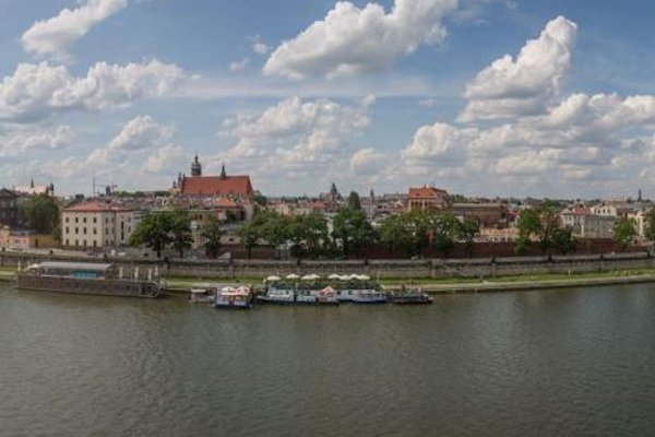 Apartament z widokiem na Wawel w centrum miasta - фото 19