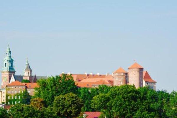 Apartament z widokiem na Wawel w centrum miasta - фото 23