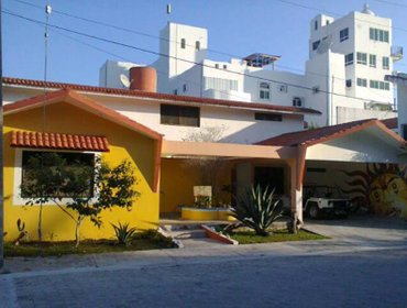 โฮสเทล Beachouse Dive Hostel Cozumel