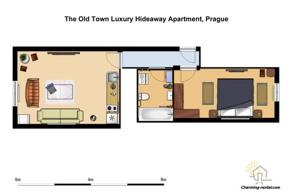 The Old Town Luxury Hideaway Apartment - фото 7