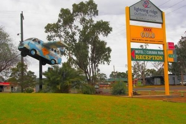 Lightning Ridge Outback Resort & Caravan Park - фото 14