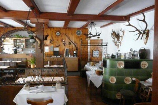 Hotel-Restaurant Waldhorn - фото 11