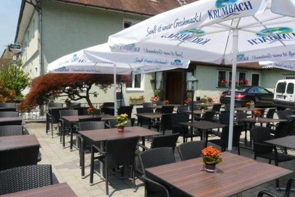 Hotel-Restaurant Waldhorn - фото 13