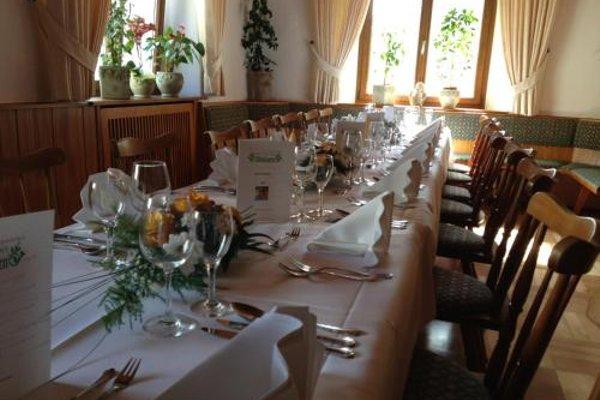 Hotel-Restaurant Waldhorn - фото 15