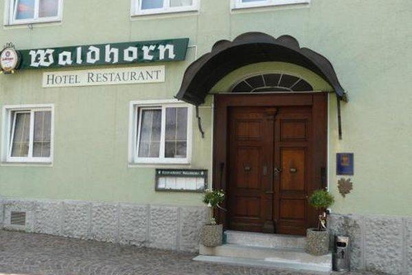 Hotel-Restaurant Waldhorn - фото 23