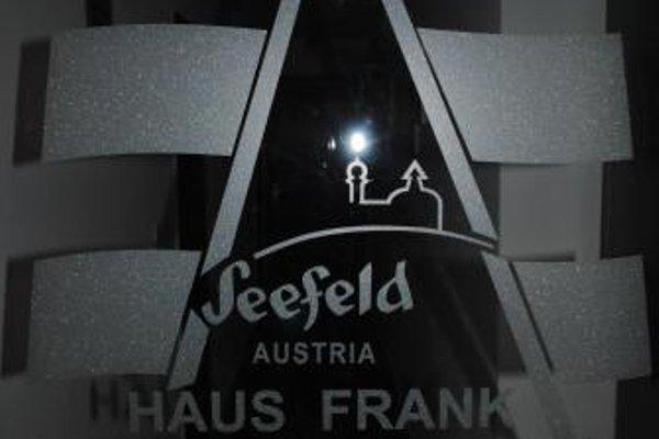 Haus Frank Apartment°6 - фото 14