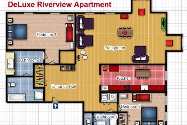 Riverview Apartments Prague - фото 19