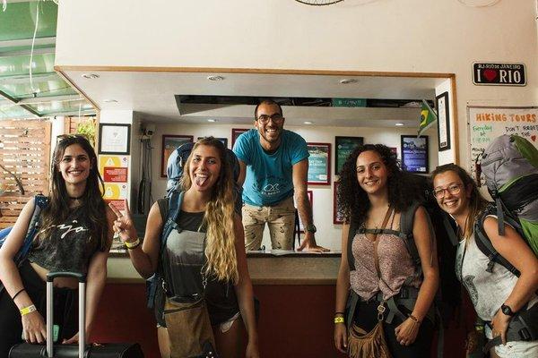 El Misti Hostel Copacabana Rio de Janeiro - фото 18
