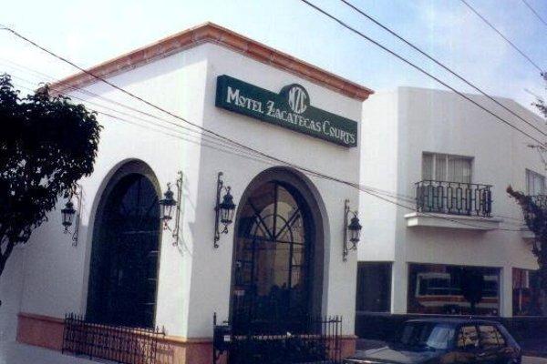 Motel Zacatecas Courts - фото 21