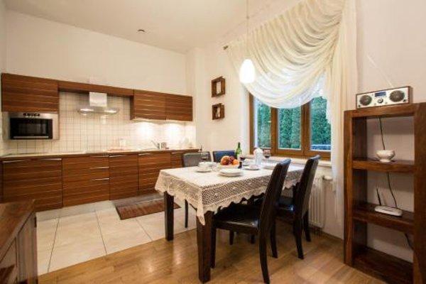 Apartament Sezamowy i Bursztynowy Willa Radowid Zakopane - фото 21
