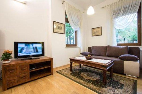 Apartament Sezamowy i Bursztynowy Willa Radowid Zakopane - фото 9