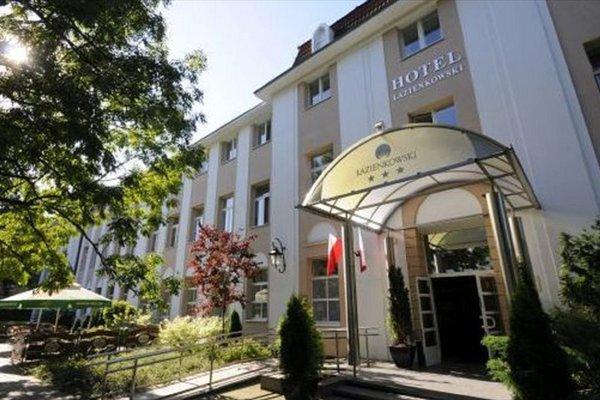 Hotel Lazienkowski - фото 22