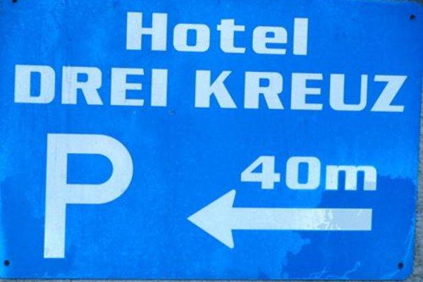 Hotel Drei Kreuz - фото 20
