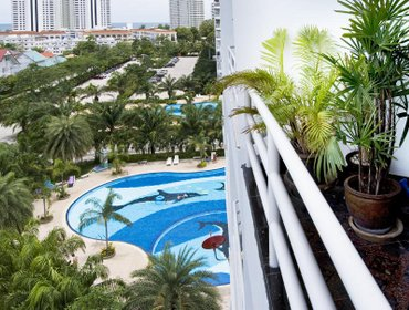 Апартаменты Jomtien View Talay 1 Studio Apartment