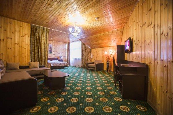 Отель Снежный Барс Домбай - фото 8