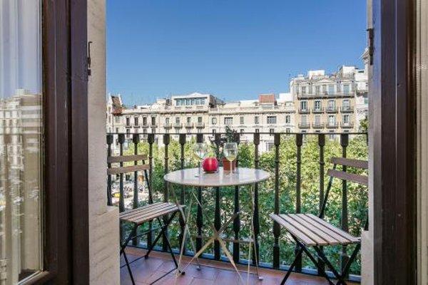 Bcn Paseo De Gracia Rocamora Apartment - фото 16