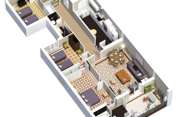 Bcn Paseo De Gracia Rocamora Apartment - фото 6