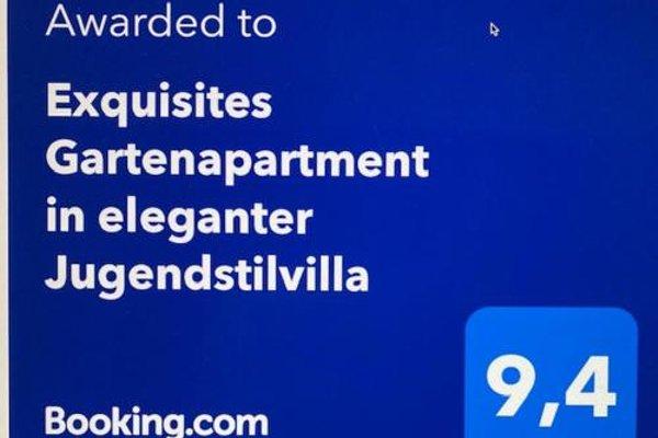 Exquisites Gartenapartment in eleganter Jugendstilvilla - фото 7