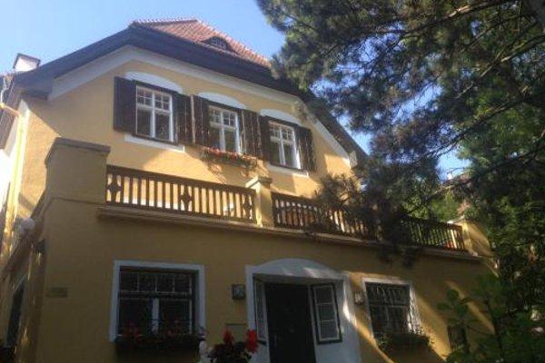 Exquisites Gartenapartment in eleganter Jugendstilvilla - фото 8