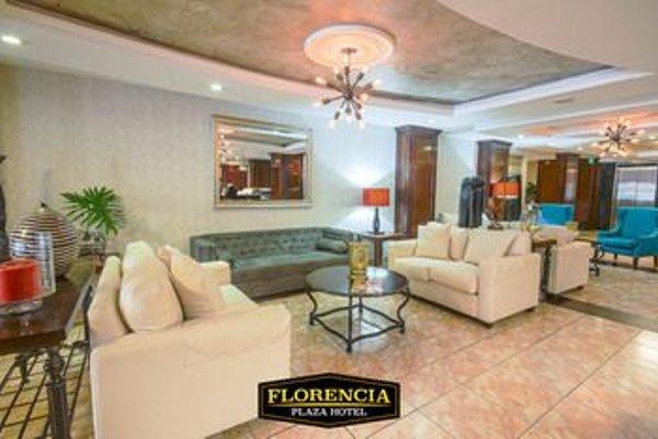 Florencia Plaza Hotel - фото 11