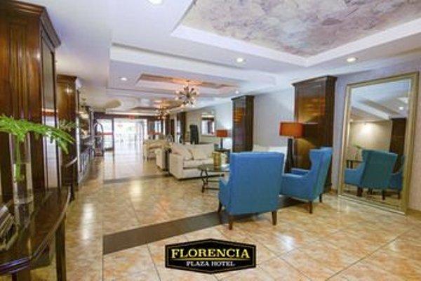 Florencia Plaza Hotel - фото 13