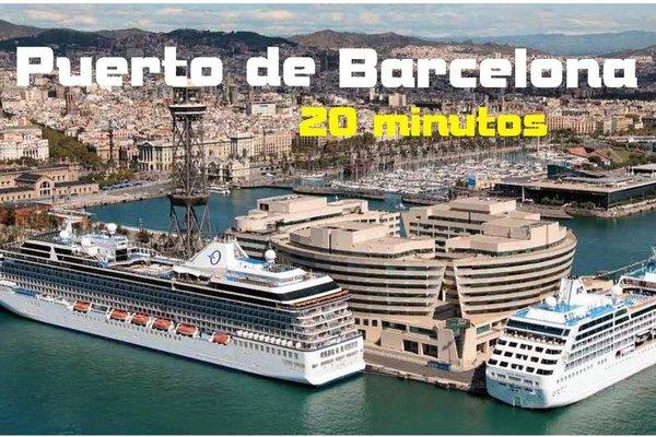 Atico con Terraza & Barbacoa, Airport Barcelona - фото 23