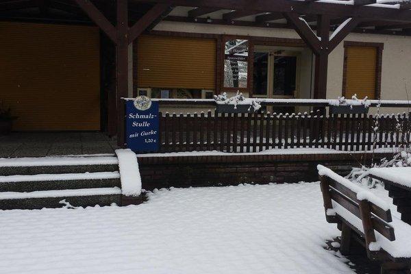 Mini Hotel Ubernachten Im Gurkenfass - фото 11
