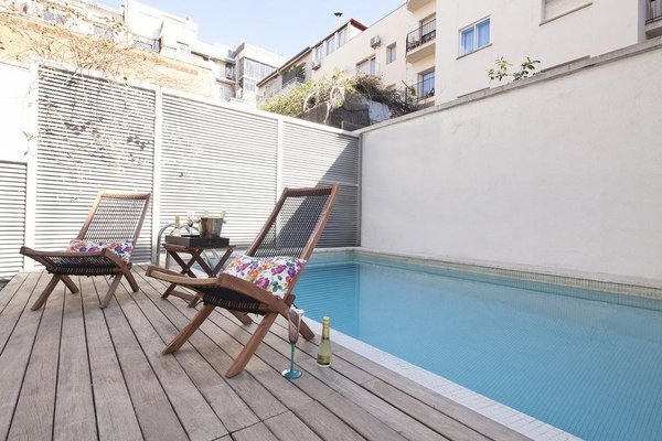 My Space Barcelona Private Pool Garden - фото 18