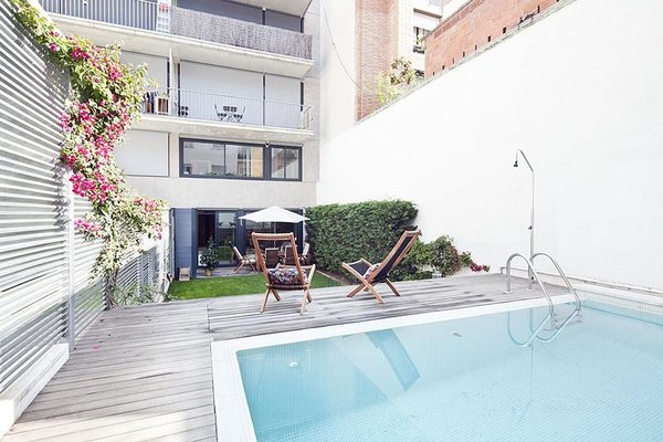 My Space Barcelona Private Pool Garden - фото 23