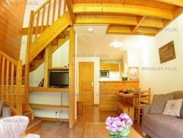 Апартаменты Rental Apartment Lauzi - Valmorel, 4 bedrooms, 9 persons
