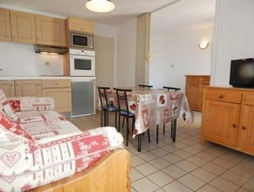 Апартаменты Rental Apartment Relais Guisane A - Briancon, 1 bedroom, 6 persons