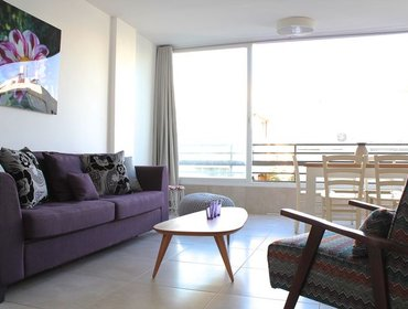 อพาร์ทเมนท์ Shneor Zalman city and beach apartment