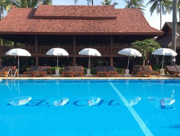 Апартаменты Intimate 1 Bedroom Hotel in Koh Chang - Classic Beachfront Twin Room