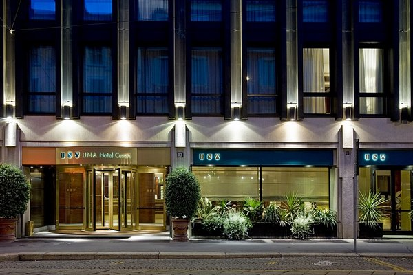 UNA Hotel Cusani - фото 23