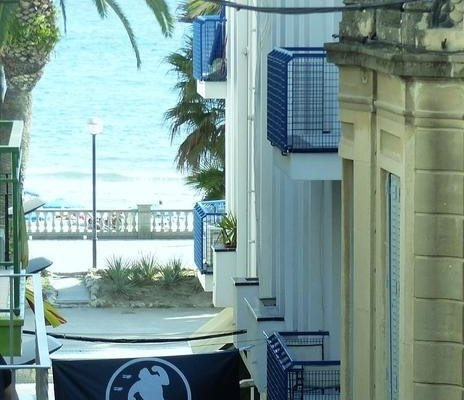 Sitges Group Blue & White close to Beach - фото 21