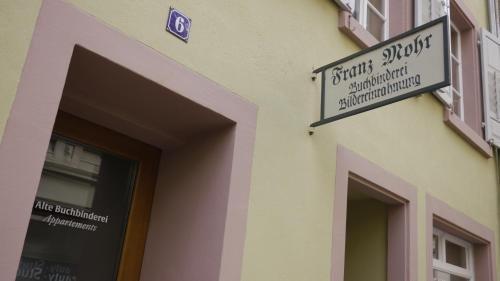 Alte Buchbinderei Appartements - фото 14