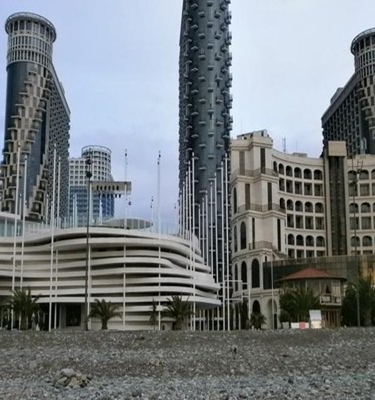 Apartment SEA TOWER Khimshiashvili 15 - фото 10