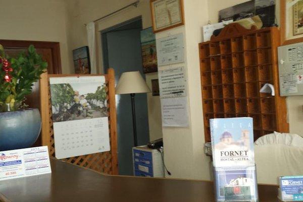 Hostal Fornet Altea - фото 10
