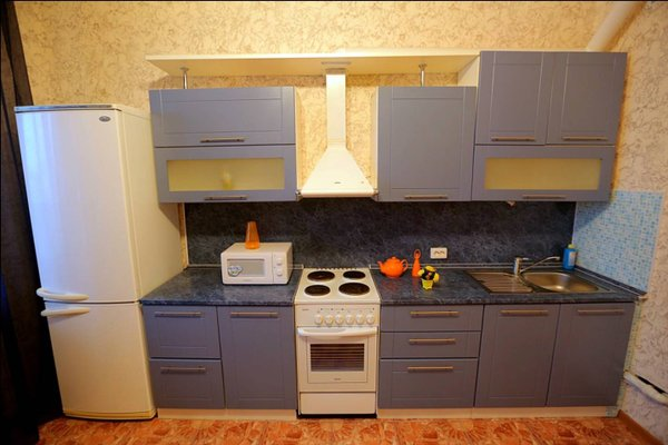 Surgut Apartments Apartments on Tumenskiy Tract 2 Aura - фото 18