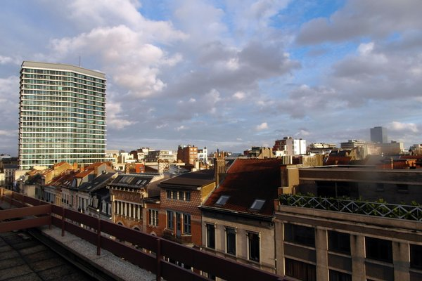 Brussels Louise Penthouse - фото 8