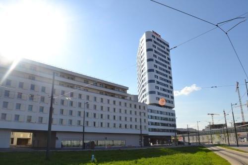 Apartments Sky Tower Vienna Hauptbahnhof - фото 13
