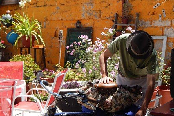 Street Garden Hostel - фото 15