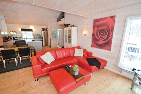 Гостевой дом «Holiday home Kaersangervej Ebeltoft», Øksenmølle