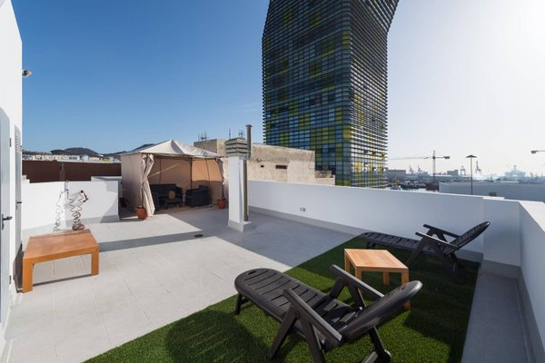 Beach Apartment & Rooftop Lounge - фото 38