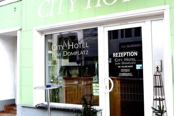 City Hotel zum Domplatz - фото 21