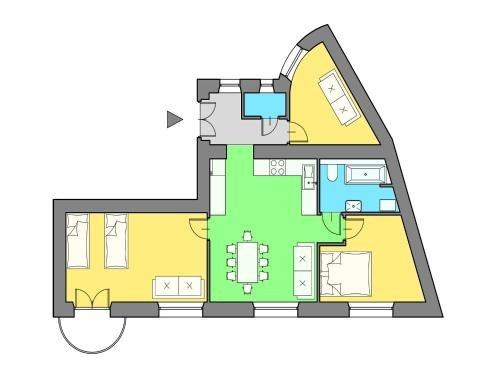 Royal Castle Apartment - фото 21