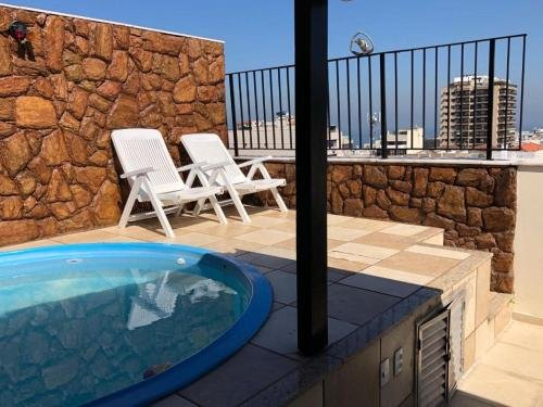 Penthouse duplex with Private Pool and View in Copacabana - фото 13