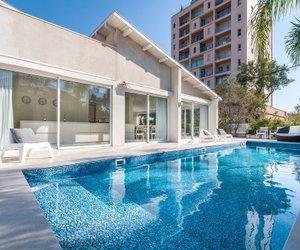 Magical Villa With Pool Herzliya Israel